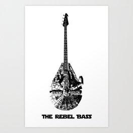 Rebel Bass Art Print
