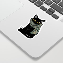 Scarf Sticker
