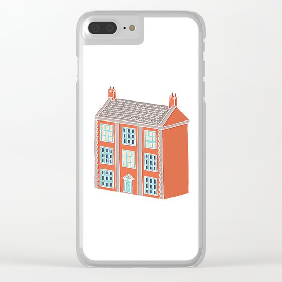 Little Big House Clear iPhone Case