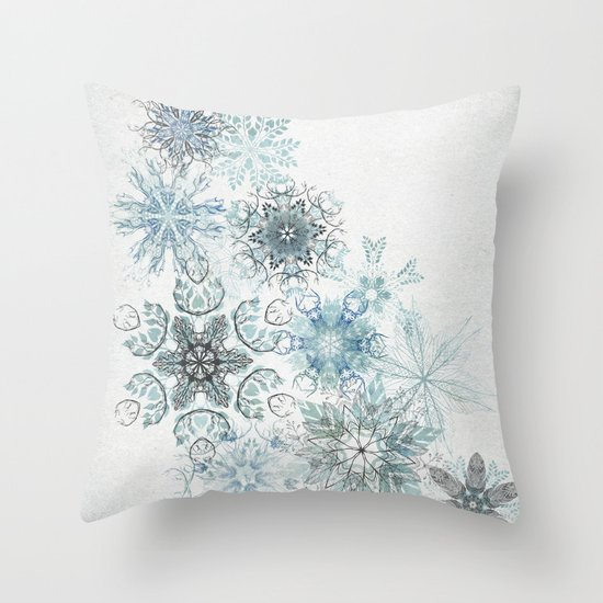 The Forest Drift Throw Pillow