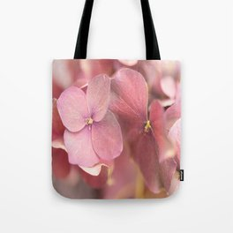 Hortensia Flower Pink Hydrangea #decor #society6 Tote Bag