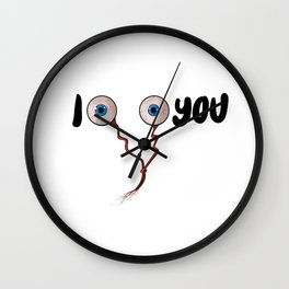 I see you Wall Clock