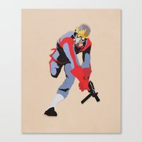 star lord Canvas Prints featuring Star-Lord by Simon Alenius