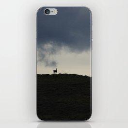 Vigilant guanaco iPhone Skin