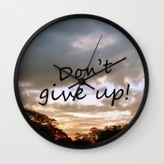 Don't give up! Wall Clock
