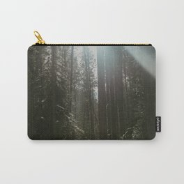 Morning Forest Sunlight Carry-All Pouch