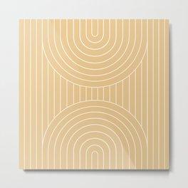 Arch Symmetry XXIX Metal Print