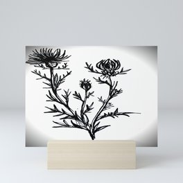 Milk Thistle Mini Art Print