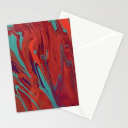 Paint Pouring 62 Stationery Cards