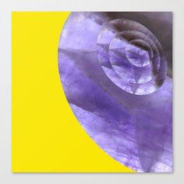 Yellow Mystical Powers of Amethyst #society6 Canvas Print