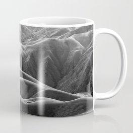 Endless Valleys (Black and White) Coffee Mug