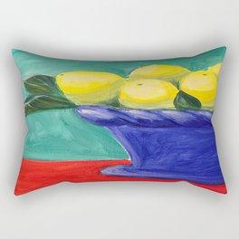Sweet Summer Lemons Rectangular Pillow