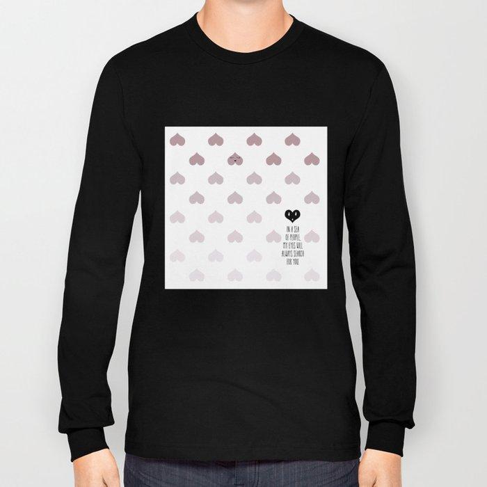 SEA OF HEARTS Long Sleeve T-shirt