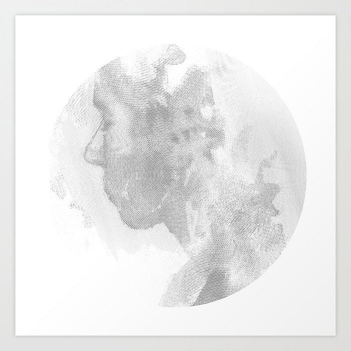 100 Circles Art Print