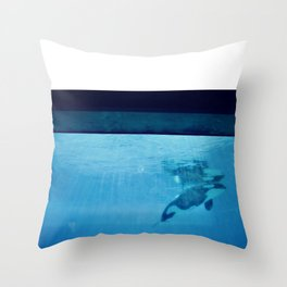 Orca Of The Ocean Throw Pillow