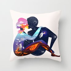 Someone New Throw Pillow