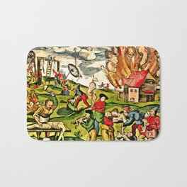 Cannibalism in Russia and Lithuania 1571 Bath Mat