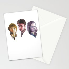 Ron, Harry & Hermione Stationery Cards
