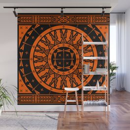 Ancestors (Orange) Wall Mural