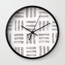 imprint 2 Wall Clock