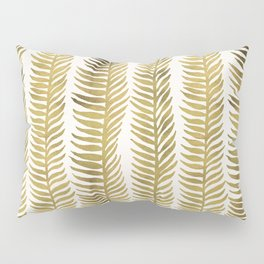 Golden Seaweed Pillow Sham