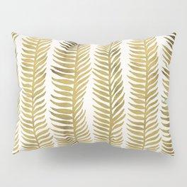 Golden Seaweed Pillow Sham