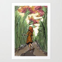 The Tiny World Art Print