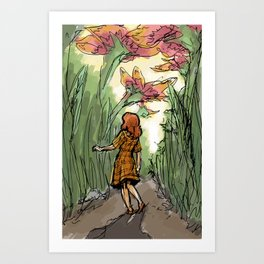 The Tiny World Art Print