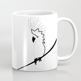 Cockatoo in line Coffee Mug