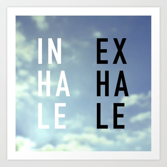 Inhale Exhale by textboy