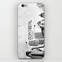 montreal iPhone & iPod Skins featuring Montreal by Yan-k