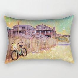Beach Cruiser and Stars Rectangular Pillow