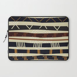 African Tribal Pattern No. 35 Laptop Sleeve