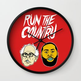 Run The Country Wall Clock