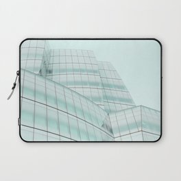 Urban Turquoise Architecture Laptop Sleeve