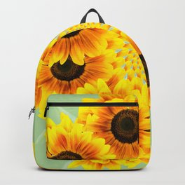 Spinning Sunflowers Backpack