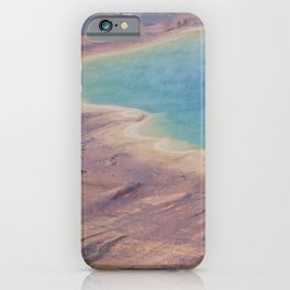 Yellowstone National Park  Panorama Number one  iPhone Case