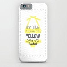 Yellow Polka Dot Bikini Slim Case iPhone 6s