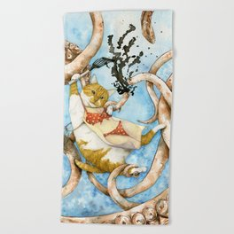 Calamari Beach Towel