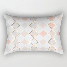 Pattern Rose Rectangular Pillow