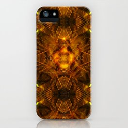 Illusion Of Matter iPhone Case