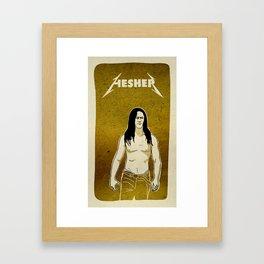 Badass Framed Art Print