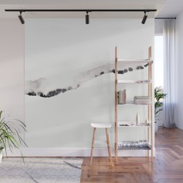 Landscape silhouette Wall Mural