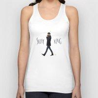 ezra koenig Tank Tops featuring Selfy king by Galaxyspeaking