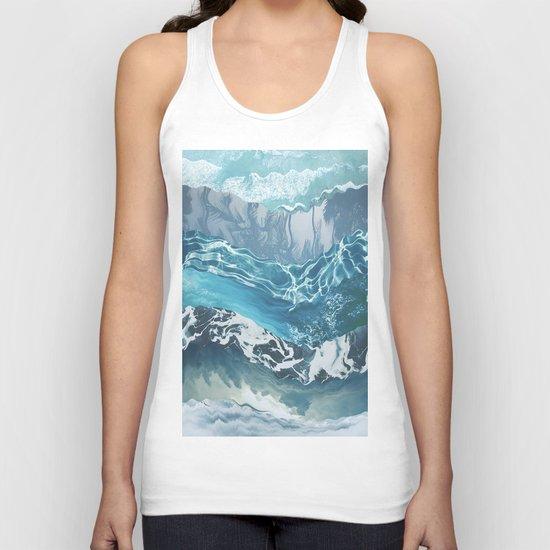 Sea abstract Unisex Tank Top