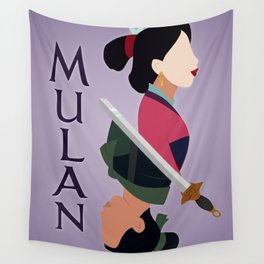 Mulan Wall Tapestry