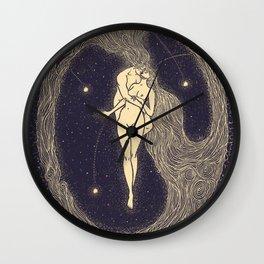 Le Mariage D'Une Comete Wall Clock