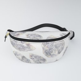 Diamond Birthstone Watercolor Illustration Fanny Pack