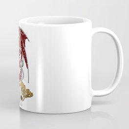 Fafnir and Sigurd Norse Mythology Coffee Mug
