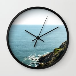 Point Reyes Coastline Wall Clock